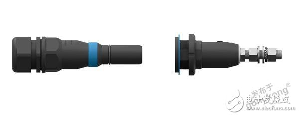 The connector ODU spc16 is very robust and can achieve high current transmission performance