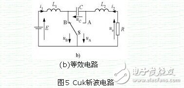 Comparative analysis of voltage rise and fall and Cuk chopper circuit module