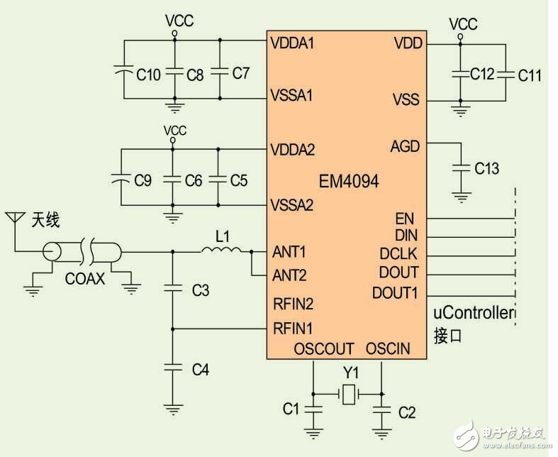 Collection of circuit diagram design based on NFC Technology