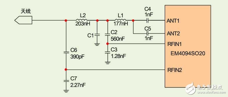 Circuit design of universal card reader based on NFC