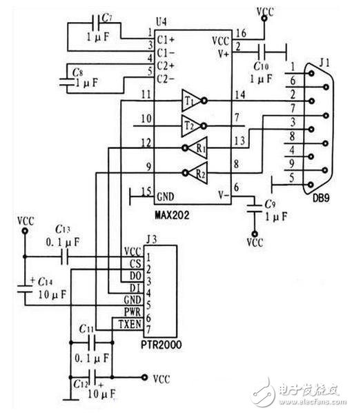 Design of interface and reset circuit module of wireless communication system based on NFC Technology
