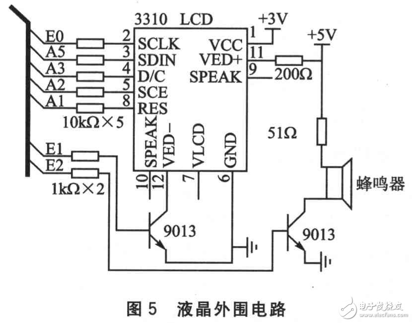 Circuit design of multi machine wireless short distance communication system based on single chip microcomputer