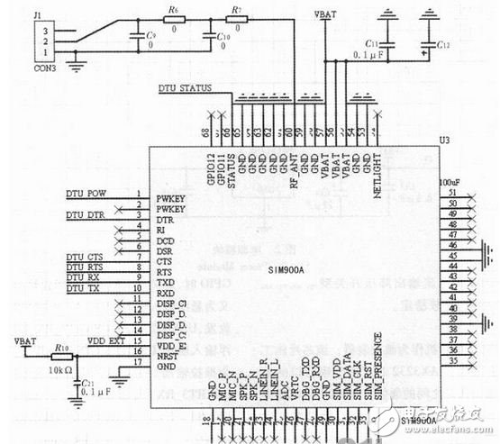 Circuit module design of wireless communication system based on arm Cortex-M3