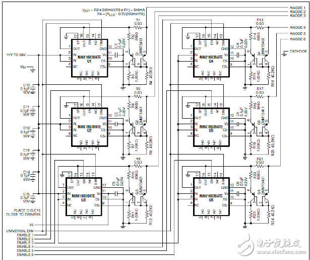 Design of linear LED driver circuit for signal lamp