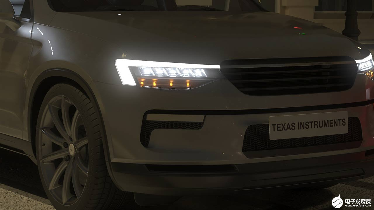 Reference design of automobile lighting system based on semiconductor technology