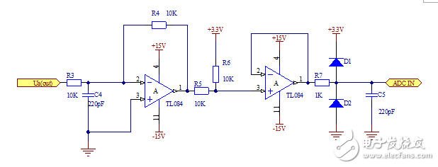 Design of AC voltage sampling circuit
