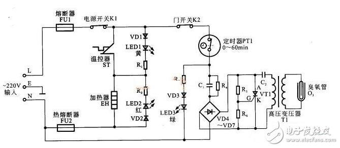 Working principle and circuit diagram analysis of water dispenser circuit diagram