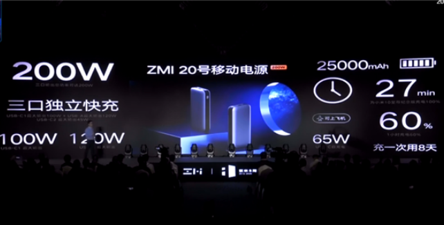 The strongest portable power bank is coming, and Zimi 10 mobile power Pro is officially launched