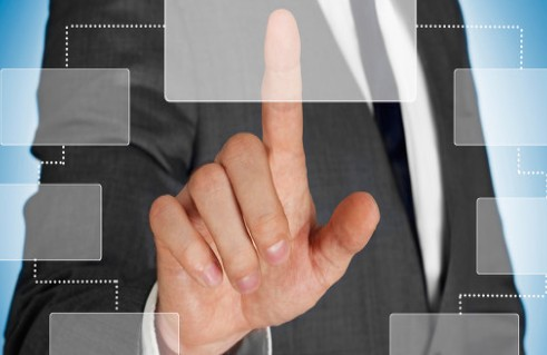 What are the main types of touch screens?