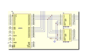 Control design of LED dot matrix display screen by AT89S52 single chip microcomputer