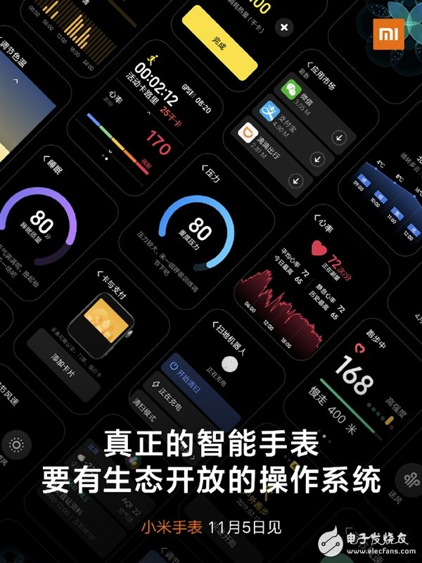 Xiaomi watch will be able to install app or realize the most basic functions