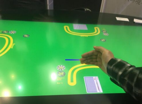 China's first object recognition and touch screen strength sensing technology