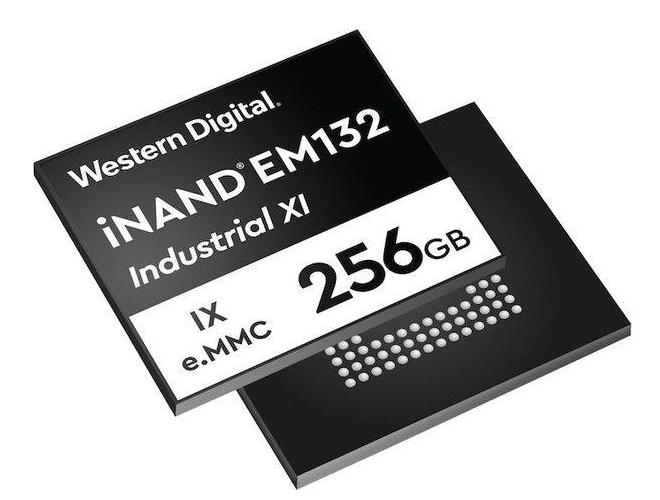 Western Digital launches industrial embedded EMMC solid state drive