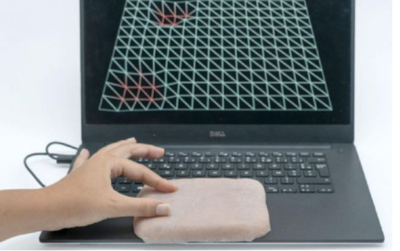 The newly developed artificial leather will be a new choice for touch interface in the future