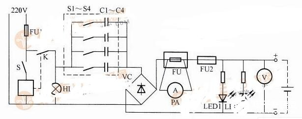 battery circuit diagram lead acid battery charger circuit diagram electronic paper li-ion battery charger circuit diagram lead acid battery charger circuit