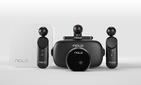 During ces2020, Nolo VR launched 6DOF cloud VR solution