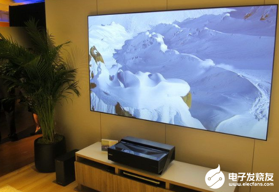 Hisense video's obsession with laser TV leads to its misjudgment of OLED TV