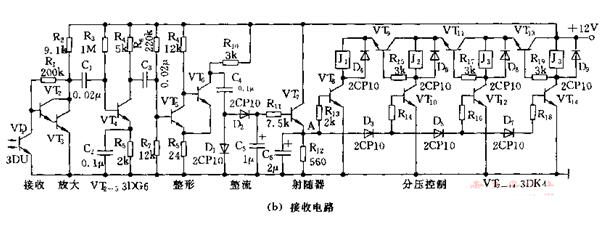 Four Channel Infrared Remote Control Circuit Diagram