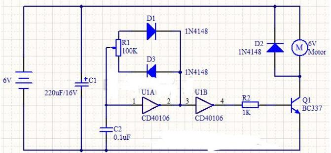 Analysis Of Two Kinds Of Dc Motor Speed Control Circuit Diagram
