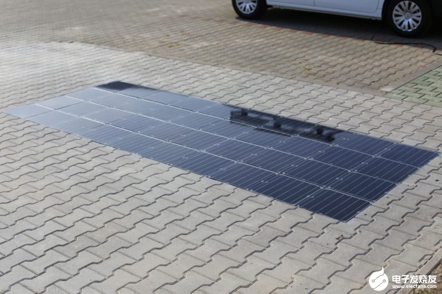 Solar energy will have greater energy production potential when it is officially used in residential driveway