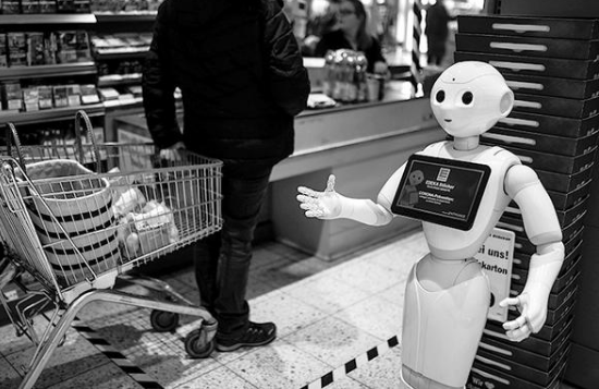 The epidemic has spawned a wave of service robots, which can replace manual reduction of infection