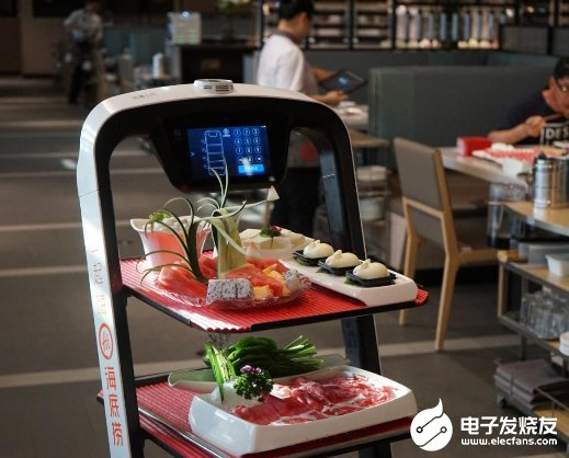 Haidilao is deploying robots to improve its characteristic high-quality service