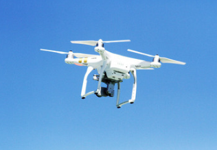 The UAV is equipped with China mobile wireless communication base station to complete the first emergency communication test