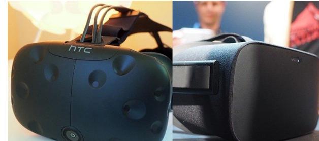 Quantitative comparison of VR head display market