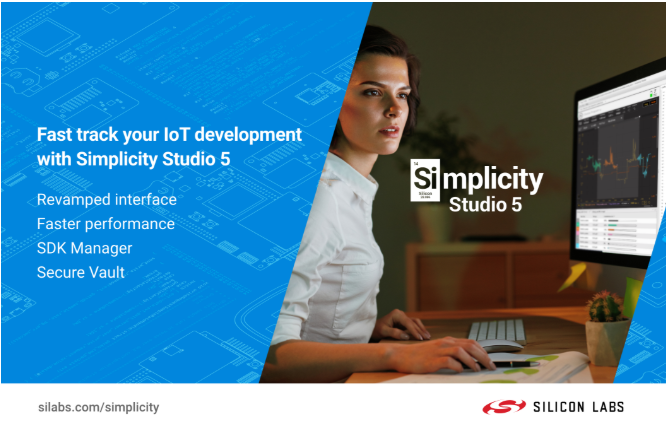 Silicon labs simplifies IOT development with simplicity Studio 5