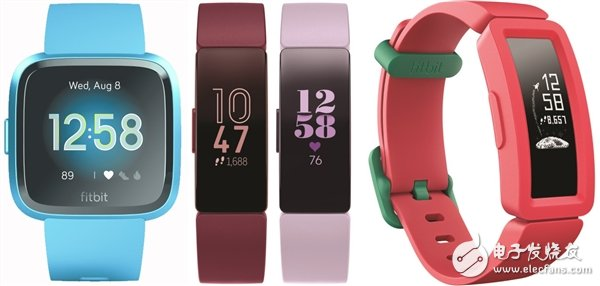 Fitbit released four new wearable products, which were launched as early as March