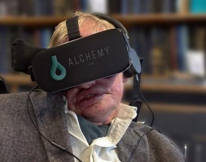 Hawking's black hole VR application will be released in early 2020