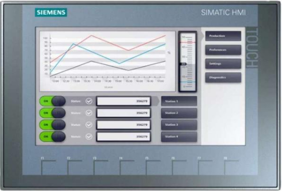 How to solve the fault of Siemens touch screen