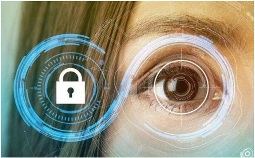 Have you found the iris recognition technology around you