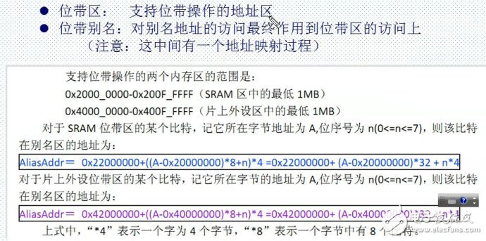 Principle analysis of bit band operation of STM32 single chip microcomputer