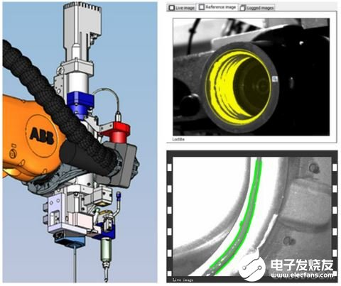 Analysis of the application of vision sensor in gluing detection