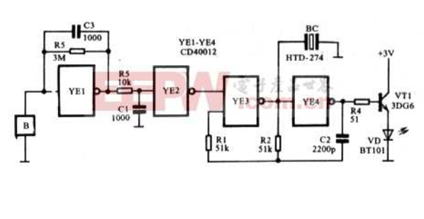 Brief analysis on the working principle of medical electronic pulse meter circuit