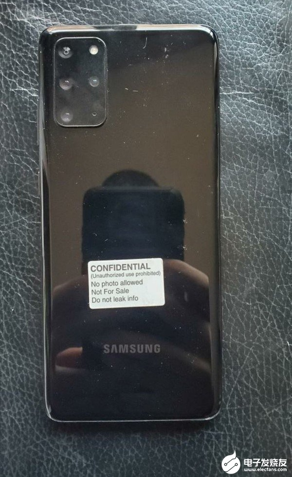 Samsung S20 + 5g real machine exposure, the machine adopts the design of central perforated screen