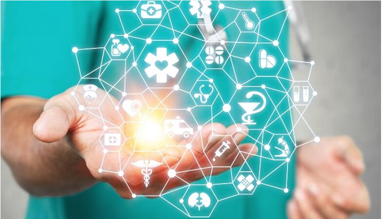 What is the trend of blockchain in health care in the new year