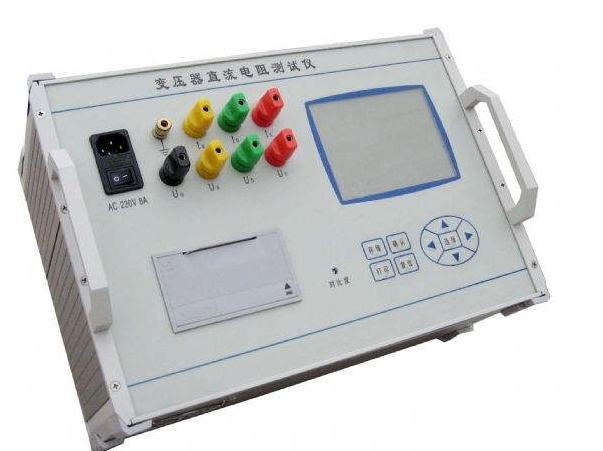 How to calculate the resistance of transformer DC resistance tester