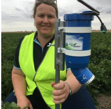 Australia has developed a new agricultural sensor to predict crop water consumption·