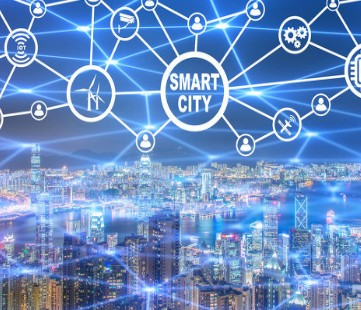 What is a smart community with a greater sense of gain, happiness and security?