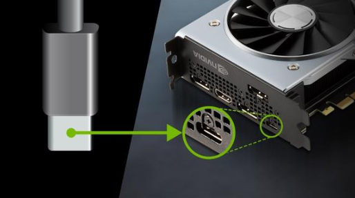 Introduction to the usage of type-C interface on graphics card