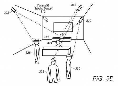 Apple's new patent exposure, virtual reality glasses will use wireless base station to enhance performance