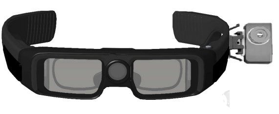 Guangdong hechuang intelligent glasses can realize real-time monitoring of human body temperature