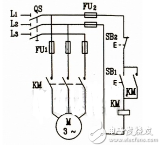 Electric motor inching control circuit diagram