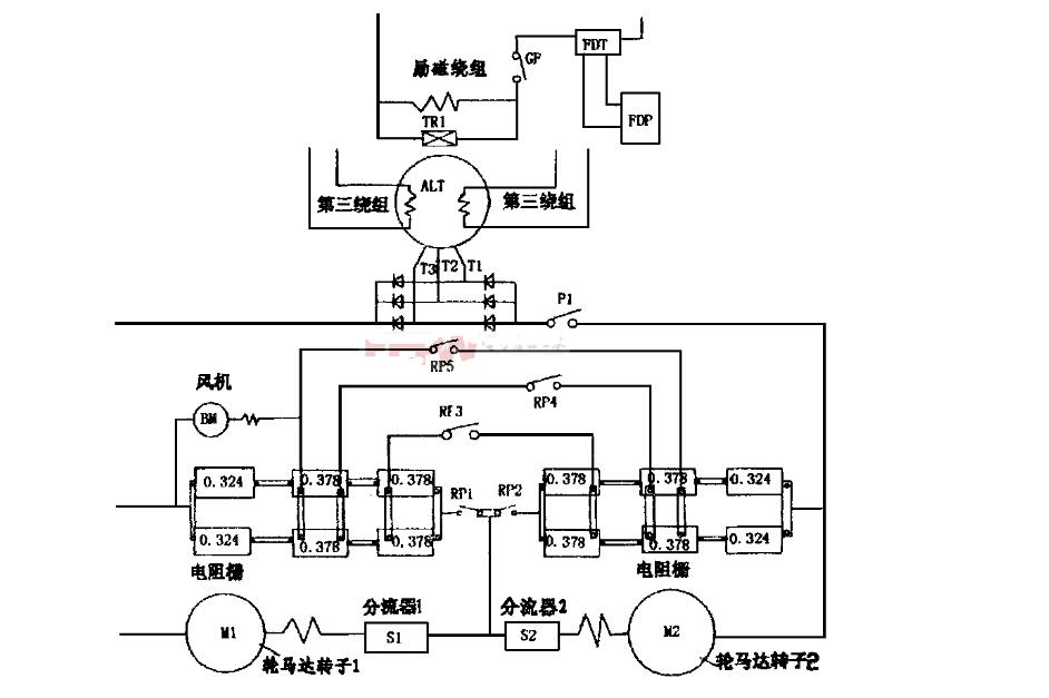 Complete Circuit Diagram Of Small Generator  Six Types Of External Grounding Starting    Single