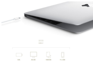Usb-c is a big step forward for the traditional interface, and the iPhone with usb-c interface is even better