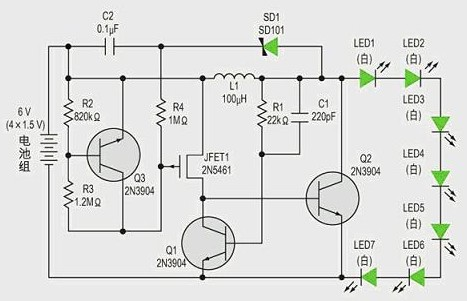 Based on the driving design of LED lamp using ballast resistance or current source