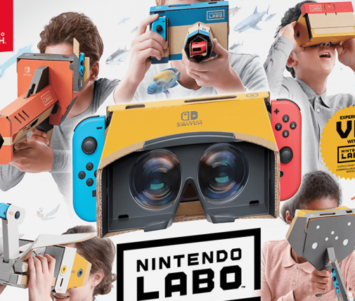 Nintendo labo's fourth VR suite will be released in mid April