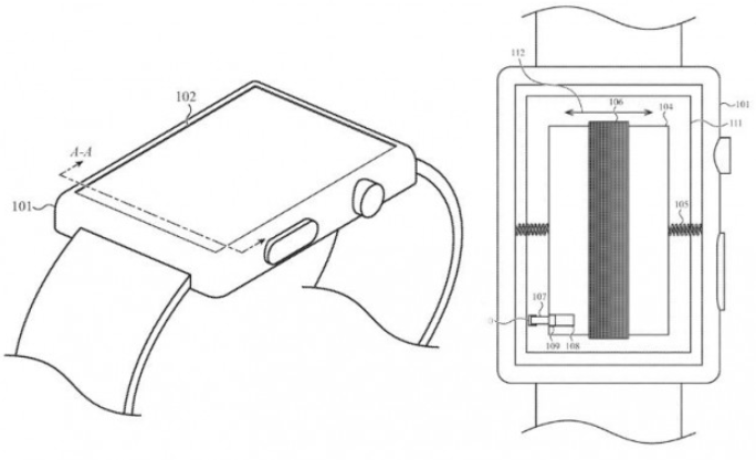 Apple research allows smart watch batteries to provide tactile response